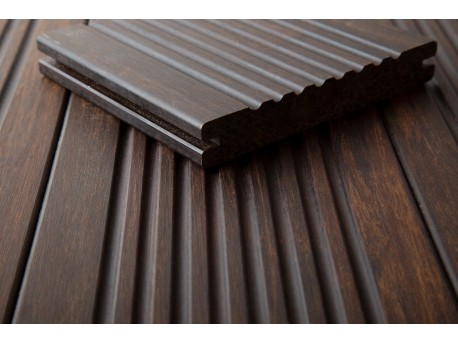 m2 DASSO XTR Bamboe terrasplank GERIBBELD PATROON-M2 Vlonderplanken