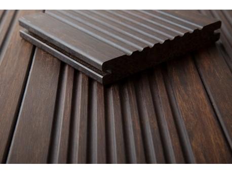 1 stuk (plank) DASSO XTR Bamboe terrasplank GERIBBELD PATROON-prijzen per stuk (plank) Vlonders