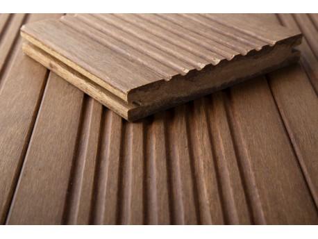 1 stuk (plank) DASSO C-TECH Bamboe terrasplank GERIBBELD PATROON-prijzen per stuk (plank) Vlonders